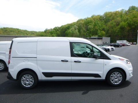 Frozen White 2017 Ford Transit Connect XLT Van