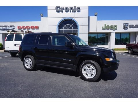 Black 2017 Jeep Patriot Sport
