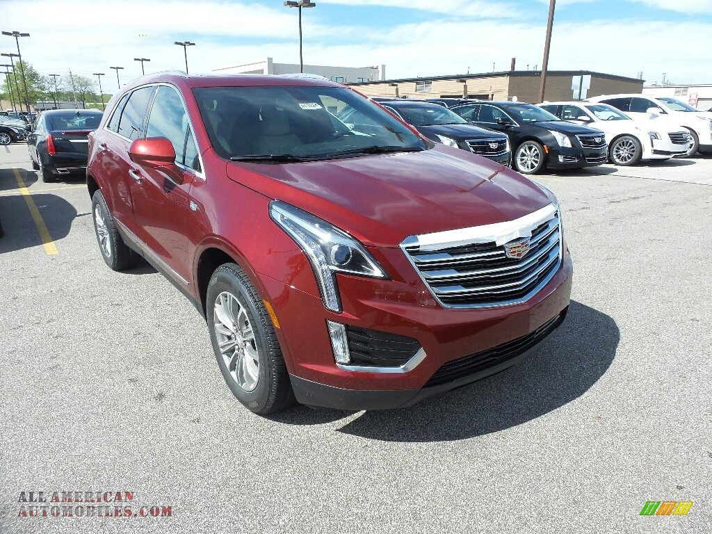 2017 cadillac xt5 luxury awd in red passion tintcoat 292331 all american automobiles buy. Black Bedroom Furniture Sets. Home Design Ideas