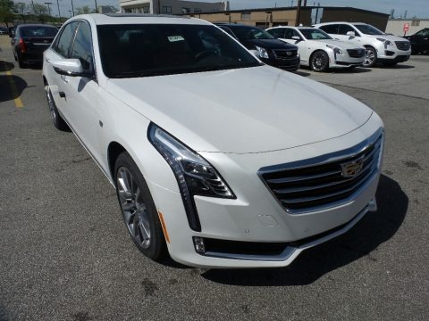 Crystal White Tricoat 2017 Cadillac CT6 3.0 Turbo Luxury AWD Sedan