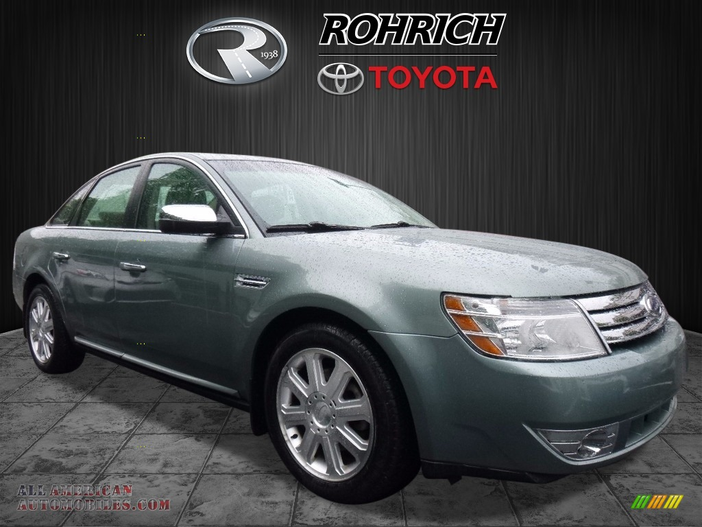 2008 Ford Taurus Limited In Titanium Green Metallic