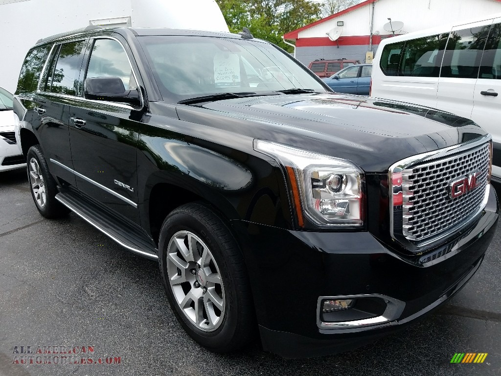 2016 gmc yukon denali 4wd in onyx black 137024 all. Black Bedroom Furniture Sets. Home Design Ideas