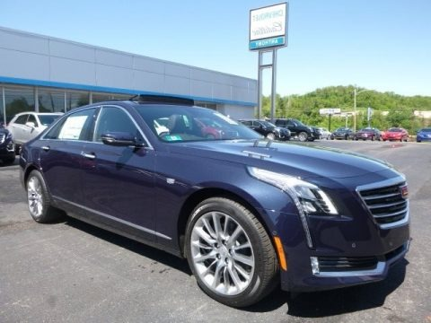 Dark Adriatic Blue Metallic 2017 Cadillac CT6 3.6 Luxury AWD Sedan