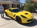 Chevrolet Corvette Z06 Coupe Corvette Racing Yellow Tintcoat photo #7