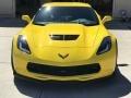 Chevrolet Corvette Z06 Coupe Corvette Racing Yellow Tintcoat photo #8