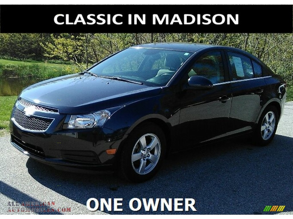 2014 chevrolet cruze lt in blue ray metallic 435042 all american automobiles buy american. Black Bedroom Furniture Sets. Home Design Ideas
