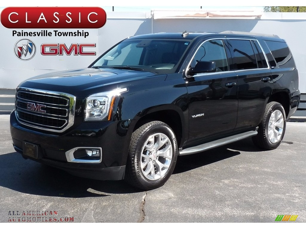 2015 gmc yukon slt 4wd in onyx black 256823 all american automobiles buy american cars for. Black Bedroom Furniture Sets. Home Design Ideas