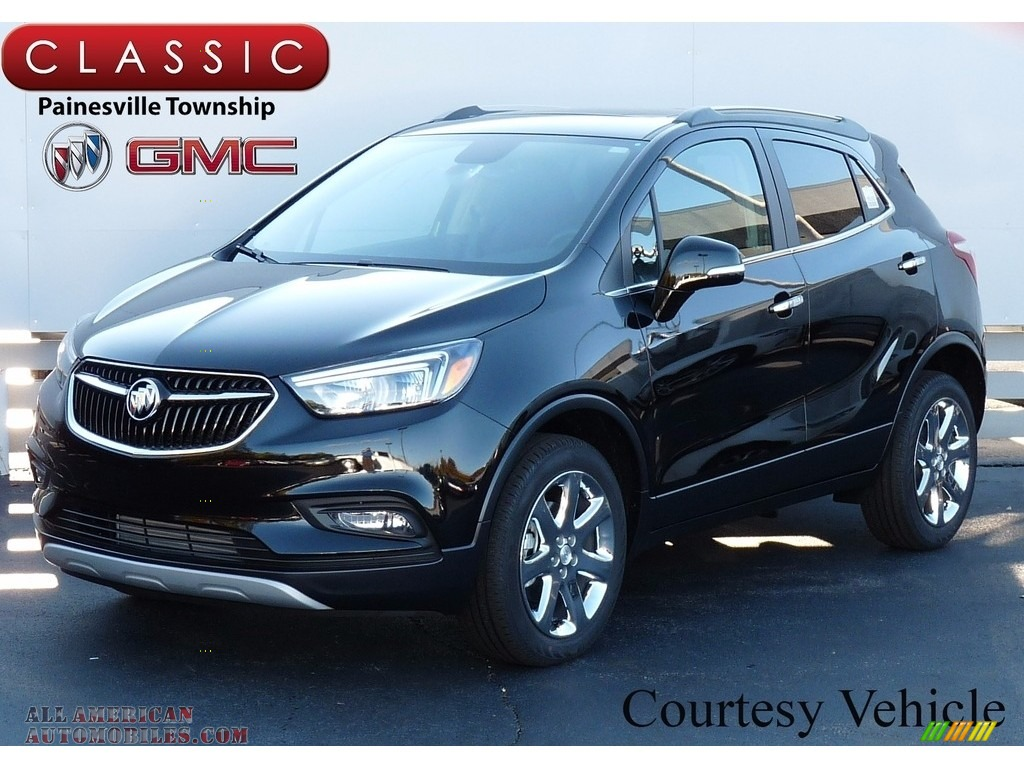 2017 buick encore preferred ii awd in ebony twilight metallic 006483 all american. Black Bedroom Furniture Sets. Home Design Ideas