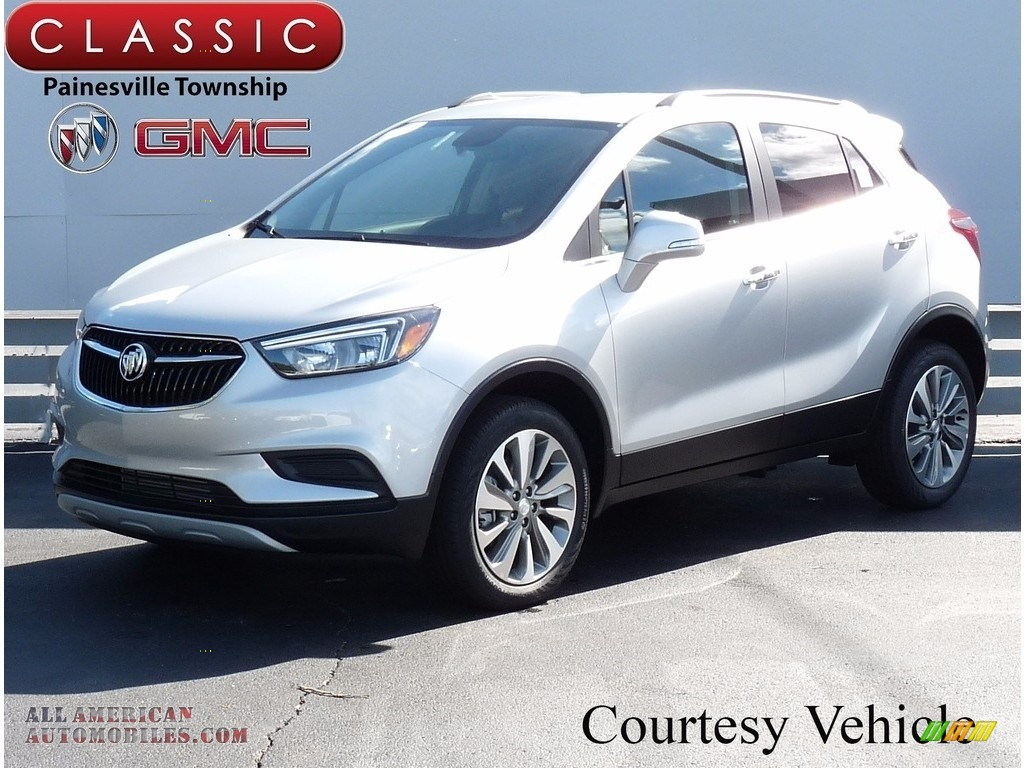 2017 buick encore preferred awd in quicksilver metallic 006470 all american automobiles. Black Bedroom Furniture Sets. Home Design Ideas