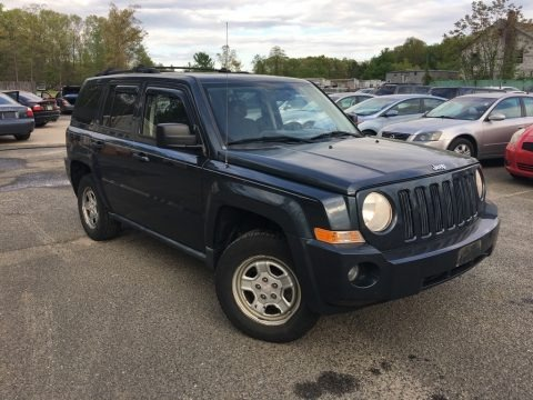 Steel Blue Metallic 2008 Jeep Patriot Sport 4x4
