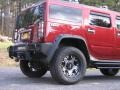 Hummer H2 SUV Red Metallic photo #4