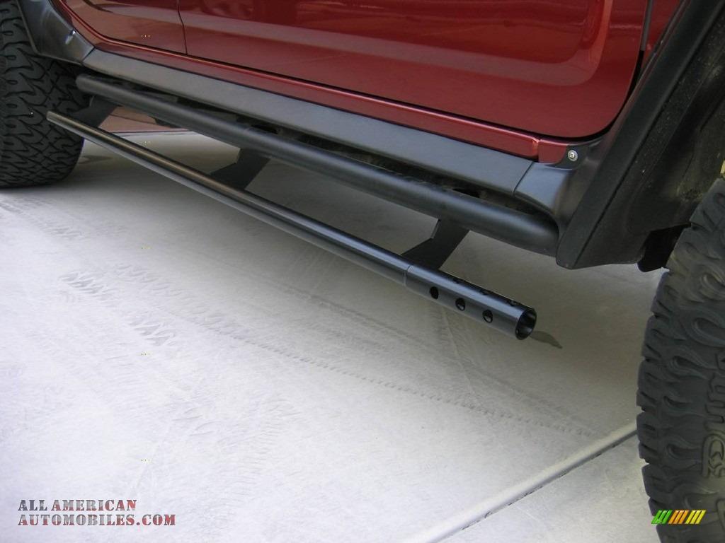 2004 H2 SUV - Red Metallic / Wheat photo #14