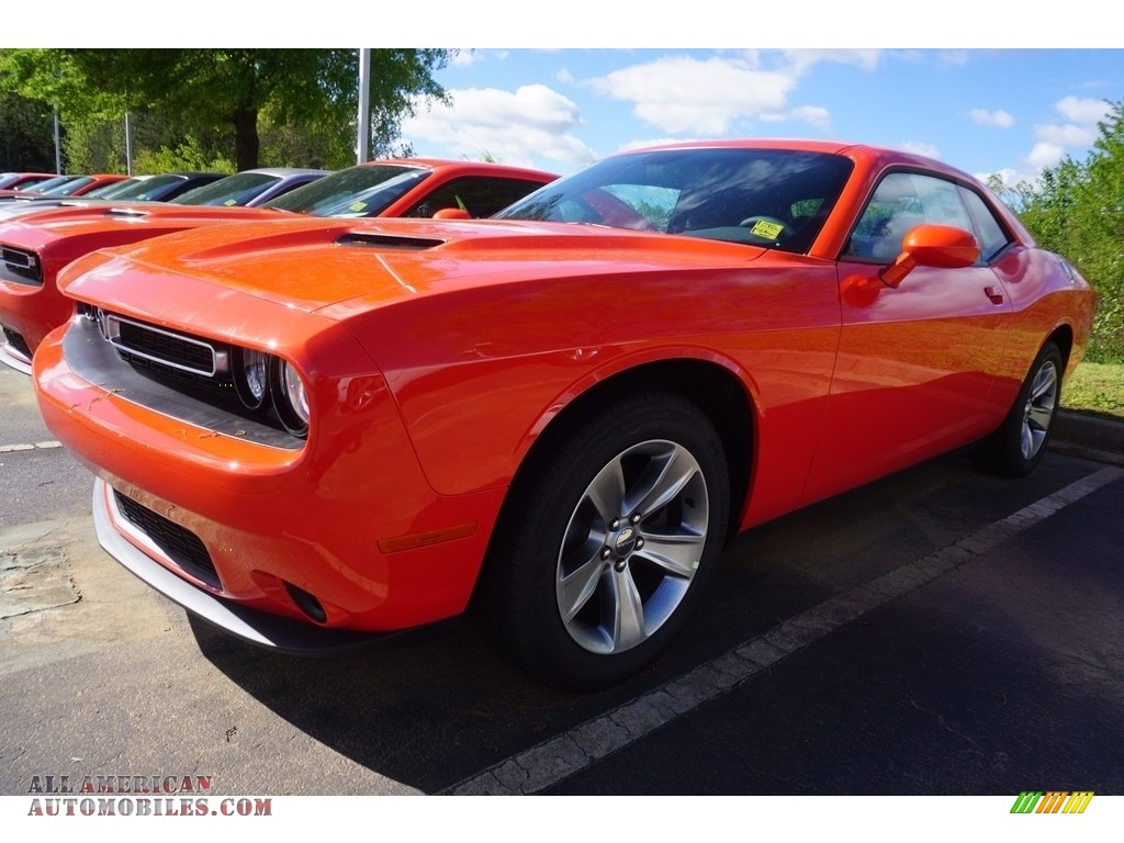2018 Dodge Dart Gt >> 2017 Dodge Challenger SXT in Go Mango - 624531 | All American Automobiles - Buy American Cars ...