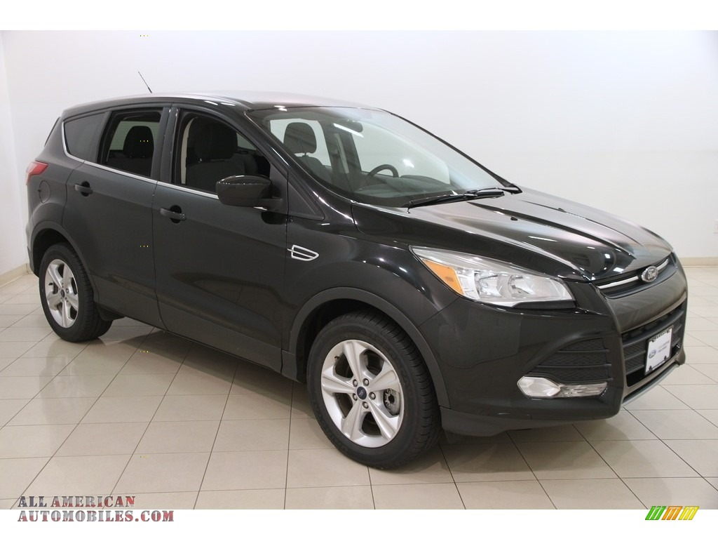 2014 ford escape se 1 6l ecoboost 4wd in tuxedo black e09131 all american automobiles buy. Black Bedroom Furniture Sets. Home Design Ideas