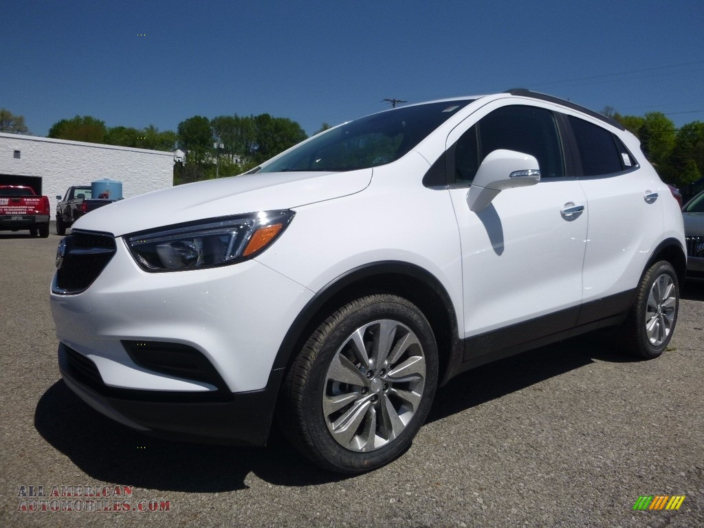 2017 buick encore preferred in summit white 158965 all american automobiles buy american. Black Bedroom Furniture Sets. Home Design Ideas