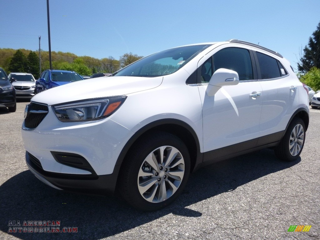 2017 buick encore preferred awd in summit white 154550 all american automobiles buy. Black Bedroom Furniture Sets. Home Design Ideas