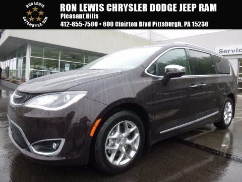 Dark Cordovan Pearl 2017 Chrysler Pacifica Limited