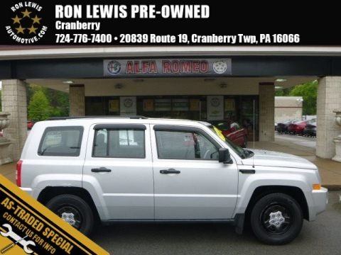 Bright Silver Metallic 2008 Jeep Patriot Sport 4x4