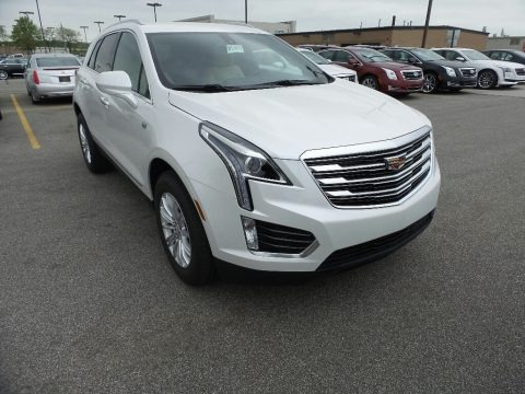 Crystal White Tricoat 2017 Cadillac XT5 FWD