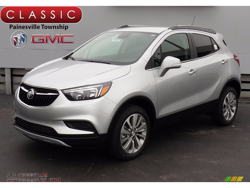 2017 buick encore preferred awd in quicksilver metallic 163149 all american automobiles. Black Bedroom Furniture Sets. Home Design Ideas