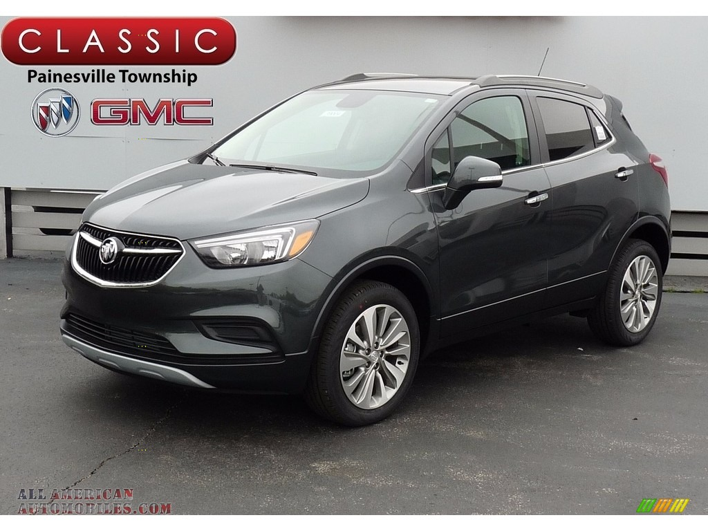 2017 buick encore preferred awd in graphite gray metallic 155402 all american automobiles. Black Bedroom Furniture Sets. Home Design Ideas