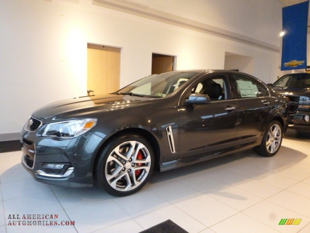 2017 chevrolet ss sedan in nightfall gray metallic 305447 all american automobiles buy. Black Bedroom Furniture Sets. Home Design Ideas