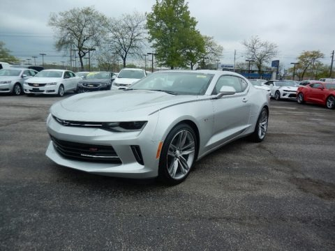 Silver Ice Metallic 2017 Chevrolet Camaro LT Coupe