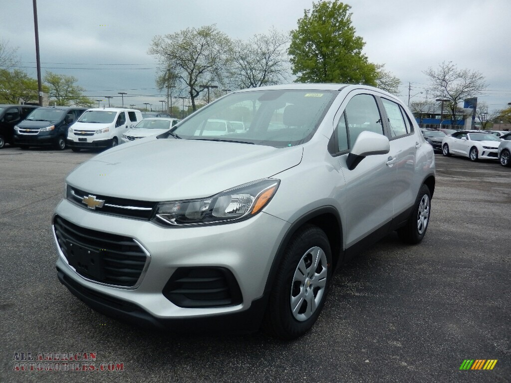 2017 chevrolet trax ls in silver ice metallic 242405 all american automobiles buy american. Black Bedroom Furniture Sets. Home Design Ideas