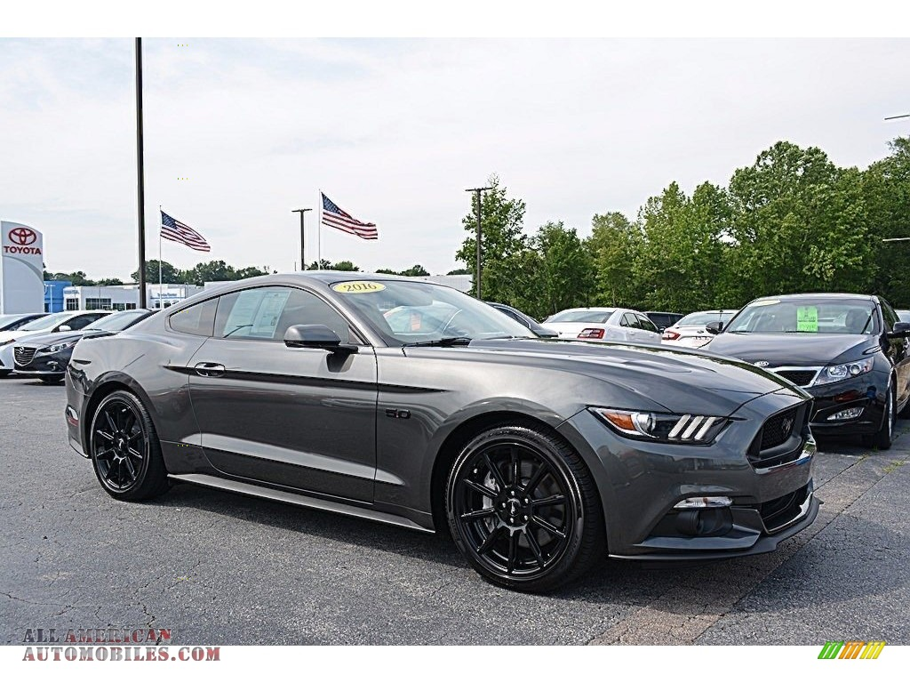 2016 ford mustang gt premium coupe in magnetic metallic. Black Bedroom Furniture Sets. Home Design Ideas