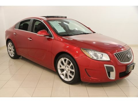 Crystal Red Tintcoat 2013 Buick Regal GS