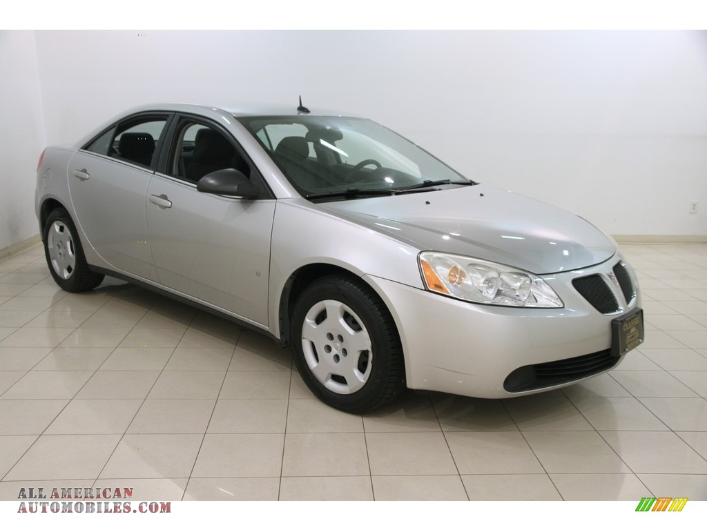 2008 Pontiac G6 Value Leader Sedan In Liquid Silver