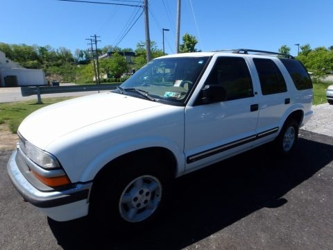 Summit White 2000 Chevrolet Blazer LS 4x4