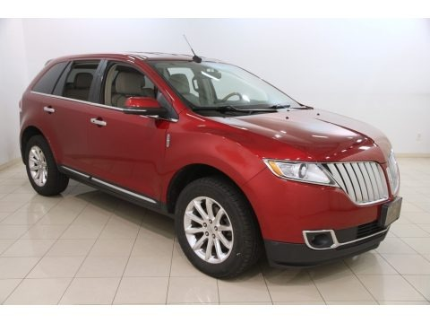 Ruby Red Tinted Tri-Coat 2013 Lincoln MKX AWD