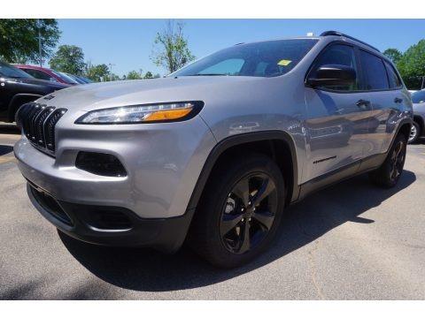 Billet Silver Metallic 2017 Jeep Cherokee Sport