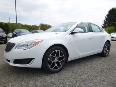 Summit White 2017 Buick Regal Sport Touring