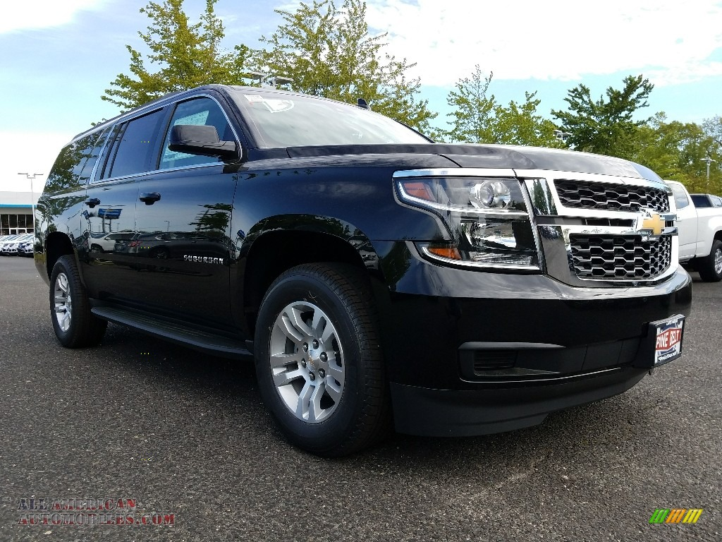 2017 chevrolet suburban lt 4wd in black 302264 all american automobiles buy american cars. Black Bedroom Furniture Sets. Home Design Ideas