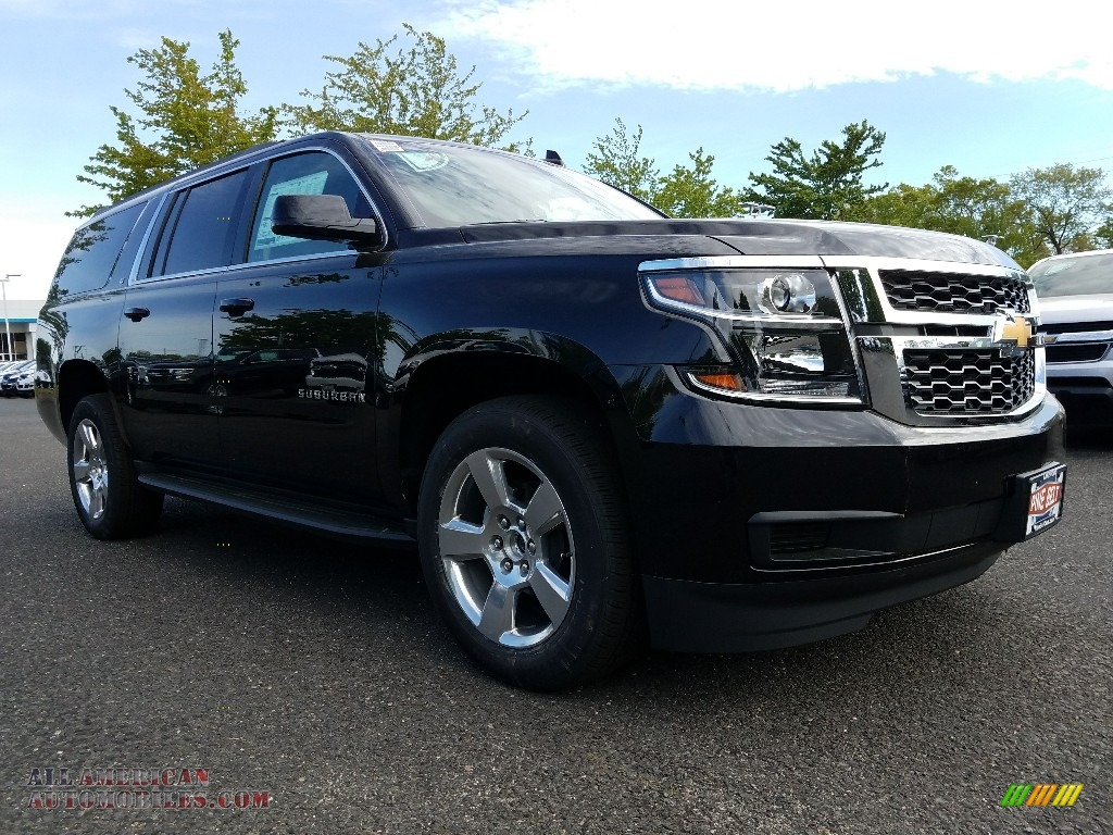 2017 chevrolet suburban lt 4wd in black 303369 all american automobiles buy american cars. Black Bedroom Furniture Sets. Home Design Ideas