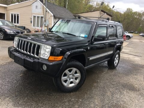 Black 2006 Jeep Commander Limited 4x4