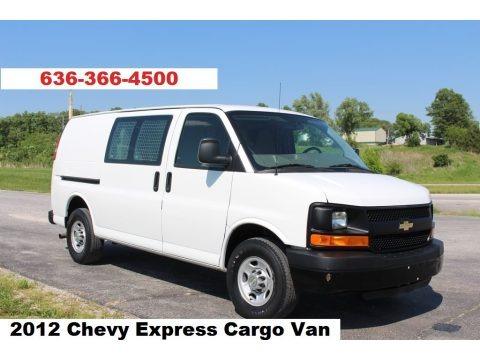 Summit White 2010 Chevrolet Express 2500 Work Van
