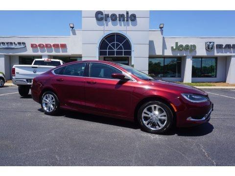 Velvet Red Pearl 2016 Chrysler 200 Limited