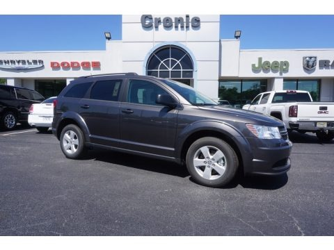 Granite Pearl-Coat 2017 Dodge Journey SE