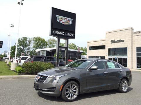 Phantom Gray Metallic 2017 Cadillac ATS AWD