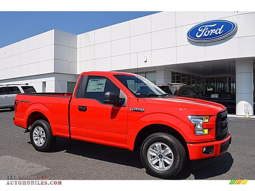 2017 ford f150 xl regular cab in race red d56436 all american automobiles buy american. Black Bedroom Furniture Sets. Home Design Ideas