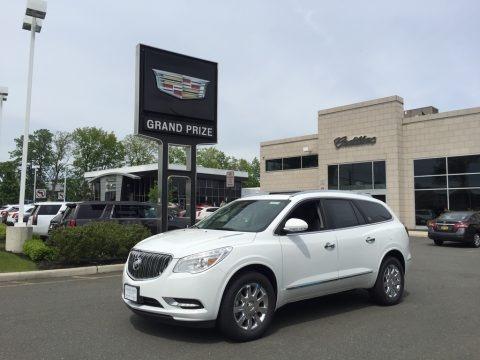 Summit White 2017 Buick Enclave Premium AWD
