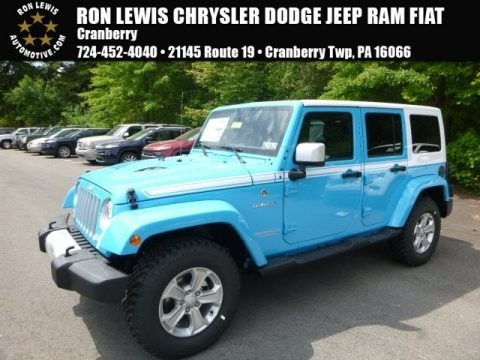Chief Blue 2017 Jeep Wrangler Unlimited Chief Edition 4x4