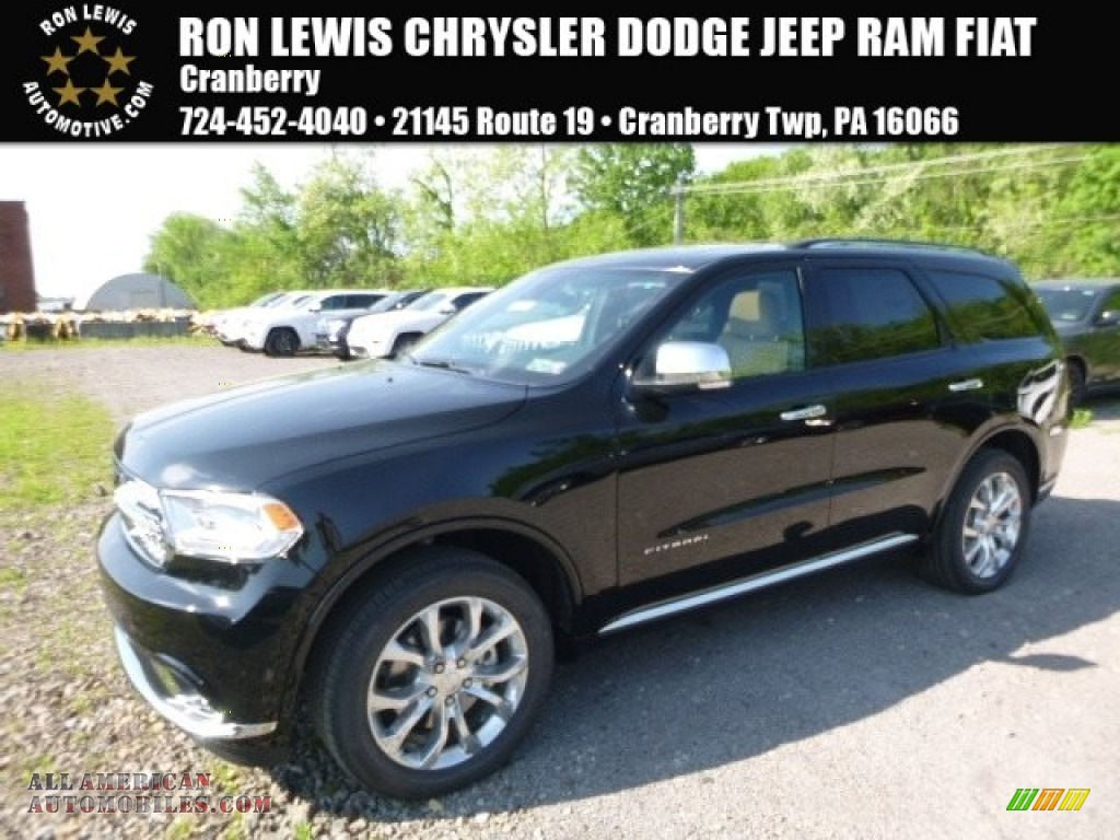 2017 dodge durango citadel awd in db black crystal for Steve white motors inc