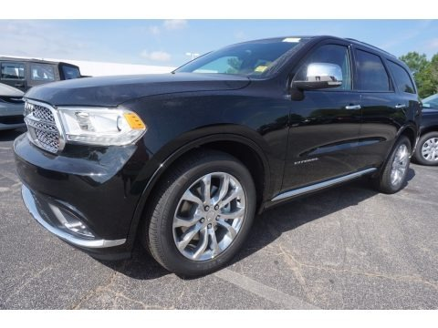 DB Black Crystal 2017 Dodge Durango Citadel