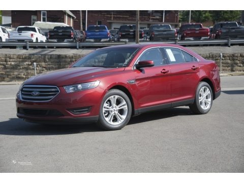 Ruby Red 2017 Ford Taurus SEL AWD