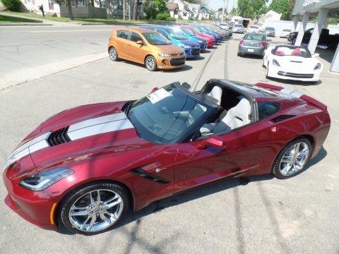 Long Beach Red Metallic Tintcoat 2017 Chevrolet Corvette Stingray Coupe