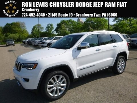 Bright White 2017 Jeep Grand Cherokee Limited 4x4